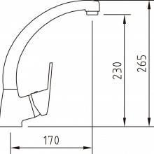 Torneira de cozinha S12 - CLEVER