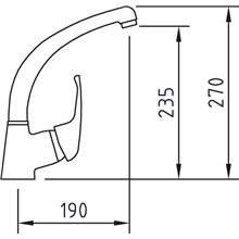 Torneira para lava-louças PANAM 27 - CLEVER