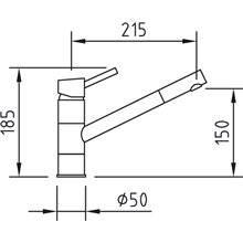 Torneira de lava-louças vertical CAIMAN - CLEVER