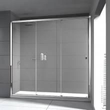 Painel de duche frontal 2 portas de correr TECHNIC COSMIC