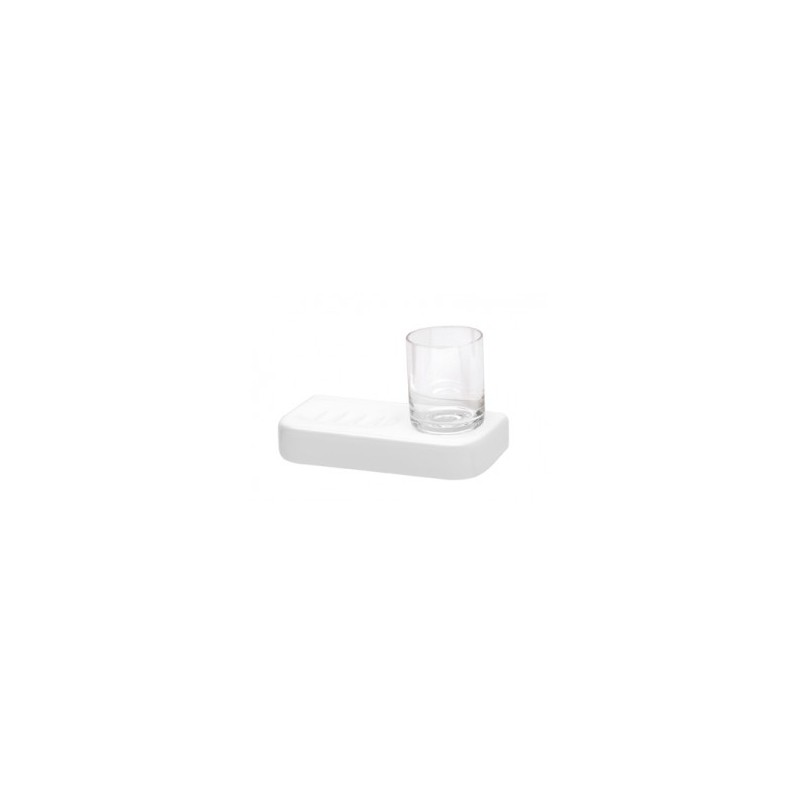 Saboneteira + copo VINTAGE - Unisan Sanindusa