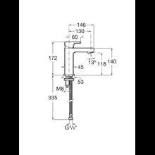 Torneira compacta lavatório L90 Roca
