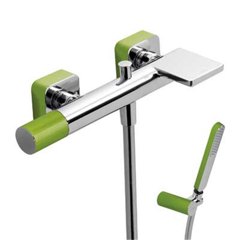 Kit de banheira-duche Verde TRES LOFT
