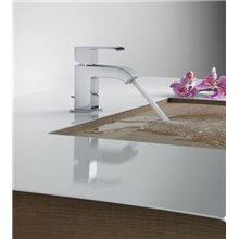 Torneira de lavatório com dreno CUADRO-TRES AC