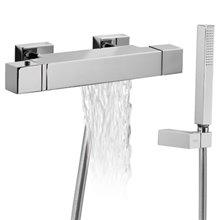 Conjunto de Banheira-Duche termostático CUADRO-TRES