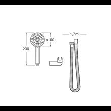 Conjunto de duche 3 funções Stella Roca