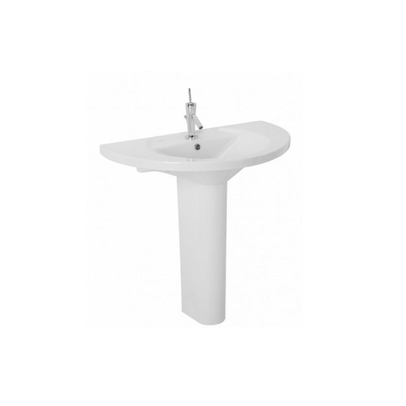 Lavabo REFLEX PLUS 85 con pedestal