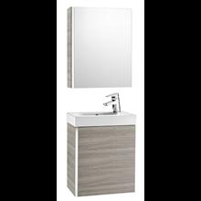 Móvel armário e espelho Areia texturada Mini Roca