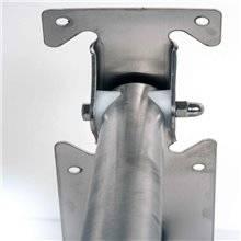 Barra de apoio basculante acetinada de 75 cm...