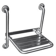 Assento de duche inox rebatível fixo Timblau B