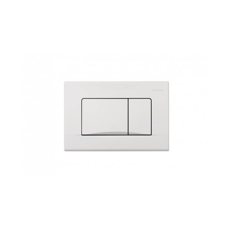 Placa de acionamento branca PLAN - Unisan Sanindusa