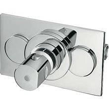 Torneira termostática encastrada duche Compact Tres 11 cm x 18 cm