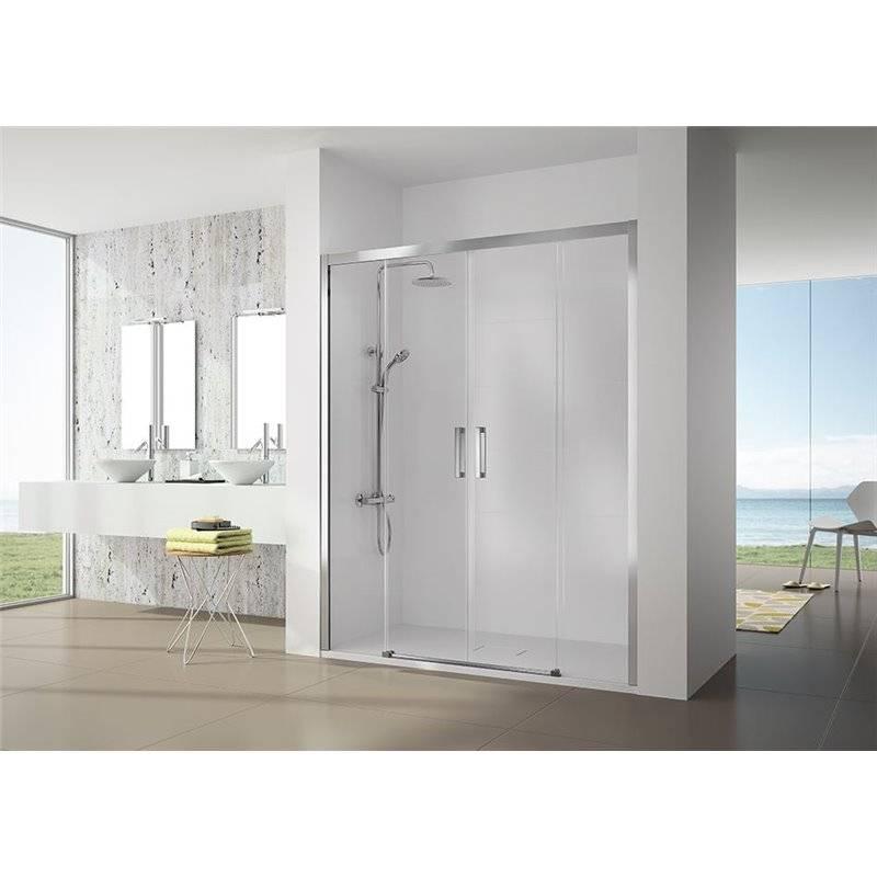 Painel de duche 2 portas de correr e 2 fixos CU100 - KASSANDRA