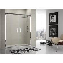 Painel de duche 2 portas de correr e 2 fixos TR100 – KASSANDRA