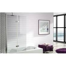 Painel de banheira porta dobrável e rebatível TR573 - KASSANDRA