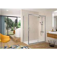 Painel de duche angular porta de correr BEL-LA BL607 KASSANDRA