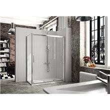 Painel de duche angular 3 portas de correr CT101 KASSANDRA