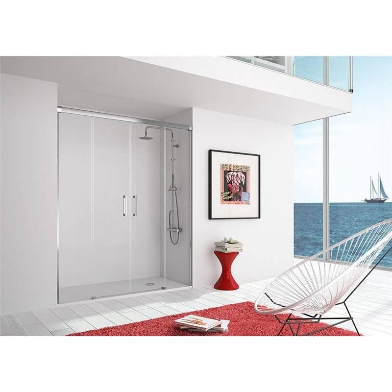 Painel de duche frontal 2 portas de correr SU100 KASSANDRA
