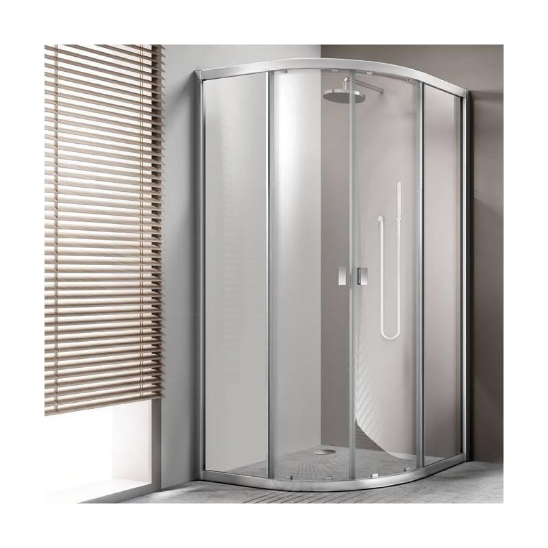 Painel de duche semicircular portas de correr TECHNIC - COSMIC