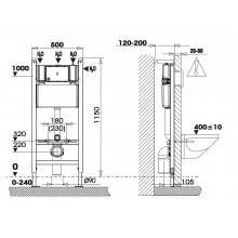 Cisterna SANFIX para pladur - Unisan Sanindusa