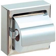 Porta-rolos quadrado aço brilhante - NOFER