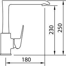 Torneira para lava-louças design Start Elegance - CLEVER