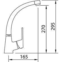 Torneira para lava-louças S12 Xtreme - CLEVER