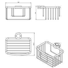 Estante cesta ARCHITECT COSMIC