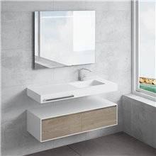Lavatório suspenso com toalheiro SAONA NATUGAMA