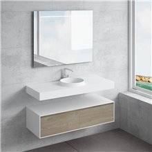 Conjunto bancada + lavatório JUNO NATUGAMA