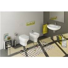 Sanita de chão compacta TESI Ideal Standard
