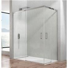 Painel angular de duche 2 portas de correr TEMPLE - GME