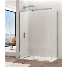 Painel angular de duche 1 porta de correr TEMPLE - GME