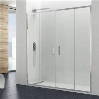 Painel frontal de duche 2 portas de correr PRESTIGE - GME
