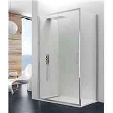Painel angular de duche 1 porta de correr PRESTIGE - GME