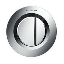 Placa de acionamento Geberit01 Cromado Brilhante cisterna 8 cm - GEBERIT
