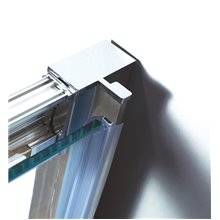 Painel semi-circular de duche 2 portas de correr PRESTIGE - GME