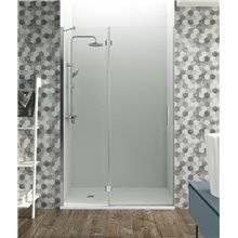 Painel frontal de duche fixo+rebatível de parede GLASS - GME