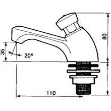 Torneira lavatório PRESTO 605