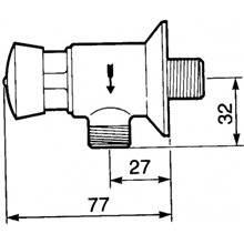 Torneira urinol PRESTO 12 A