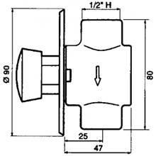 Torneira urinol PRESTO 27