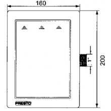 Fluxómetro sanita PRESTO 1000 A