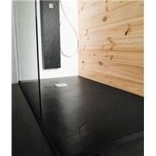 Base de duche Natural Xisto Preto - B10
