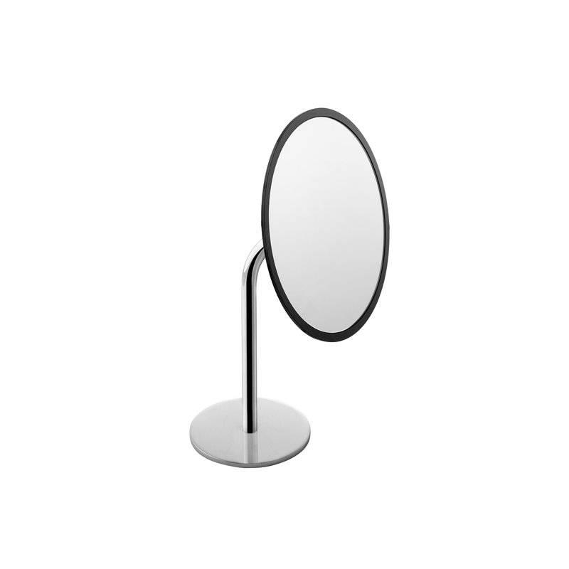 Espelho Project Preto-Cromado COSMIC