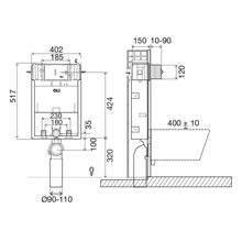 Cisterna de encastrar EXPERT EVO Simflex 820 - OLI