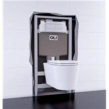Cisterna de encastrar OLI74 PLUS Sanitarblock Hidroboost