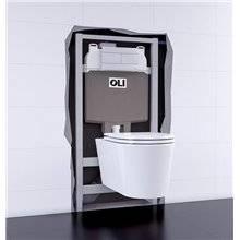 Cisterna de encastrar OLI74 PLUS Sanitarblock Autoportante Pneumática